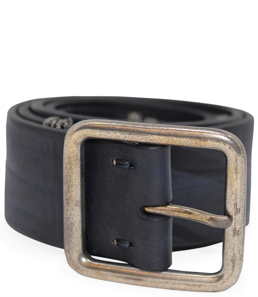 RICCARDO FORCONI BLUE/NAVY M/2632 LEATHER BELT