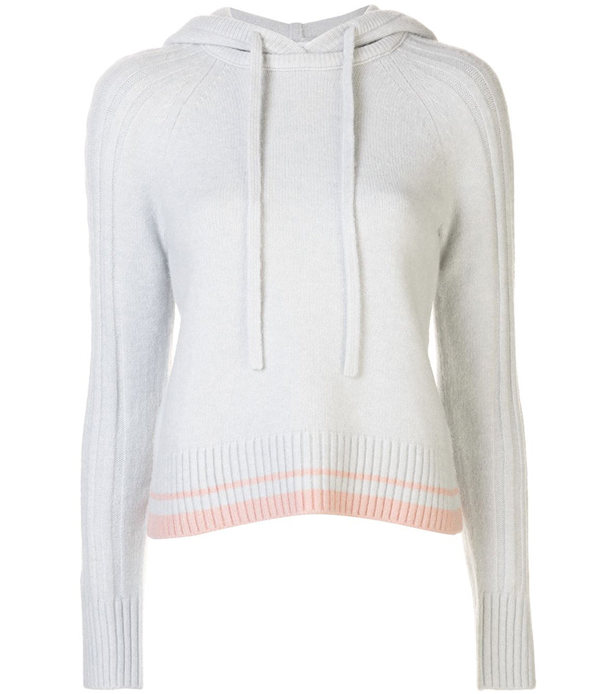 Duffy MIST PINK HOODIE W/CABLE