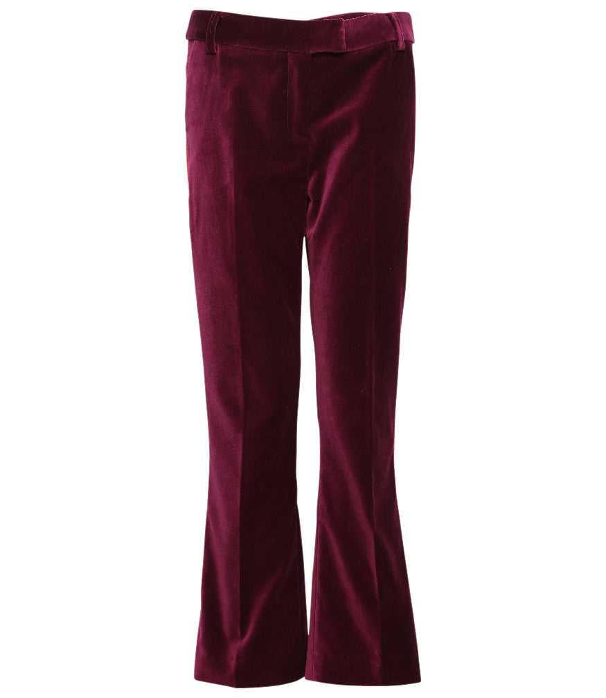 Violet Flare Woven Pants