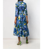 Samantha Sung Chambray Copacabana Aster Dress