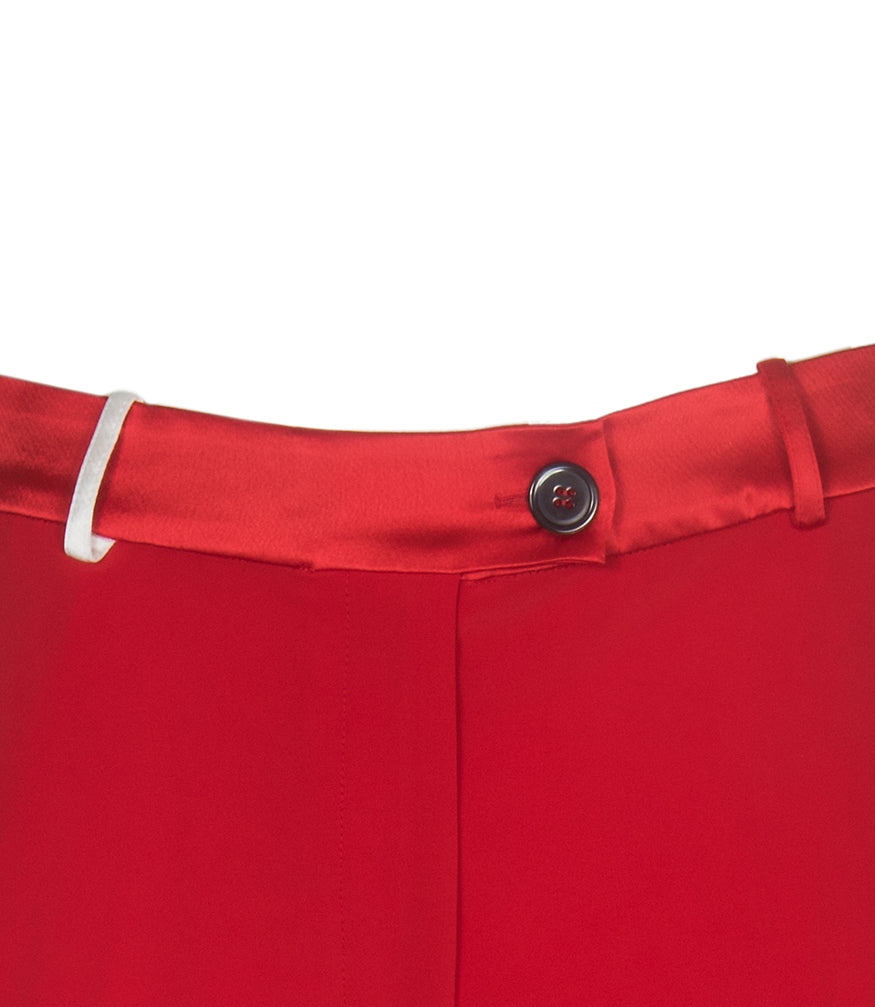Red Faro Trousers