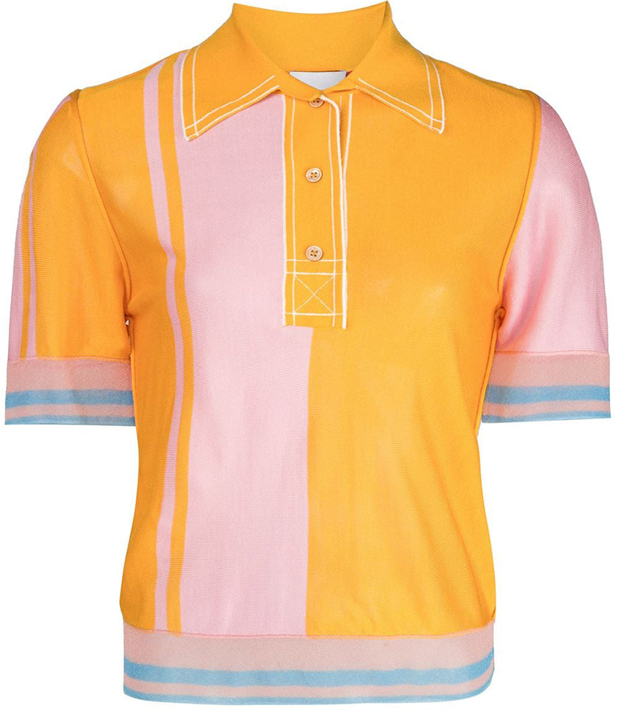 I am Chen Polo Shirt Yellow