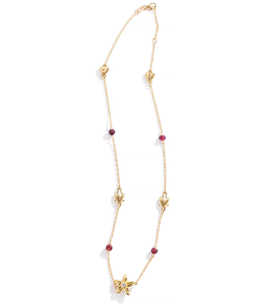 Renato Cipullo 18k Friore Amore Necklace