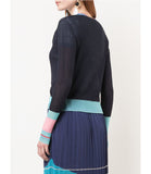 I Am Chen Night Sky Silk Cardigan