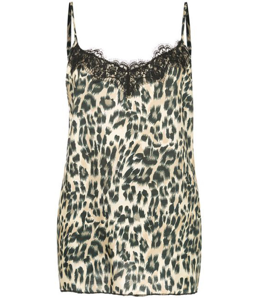 Icons Leopard Lace Top