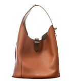 Pugnetti Parma Cognac Leather Shoulder Bag