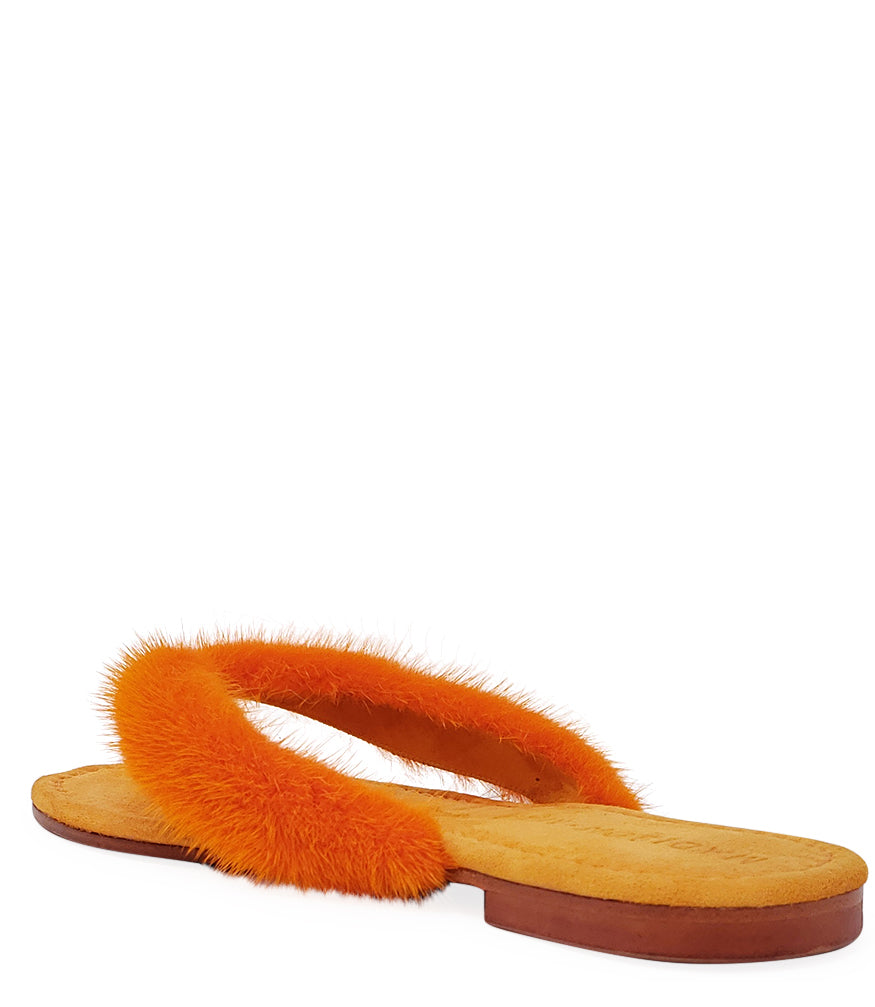 Madison Maison Orange Thong Mink Sandal
