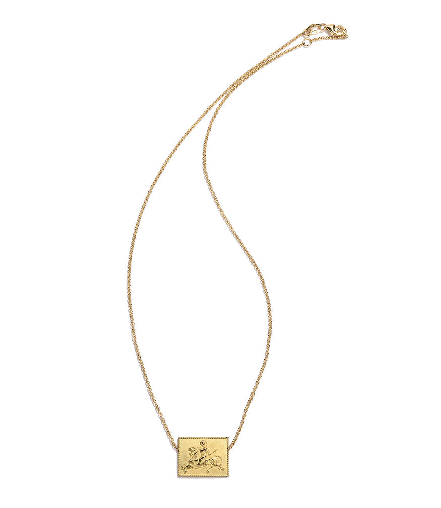 RENATO CIPULLO GRIFONE NECKLACE YELLOW GOLD