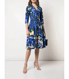 Samantha Sung Admiral Blue Audrey Dress #1