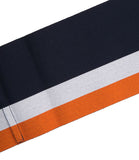 Sara Roka Navy/Ivory/Orange Cotton Belt