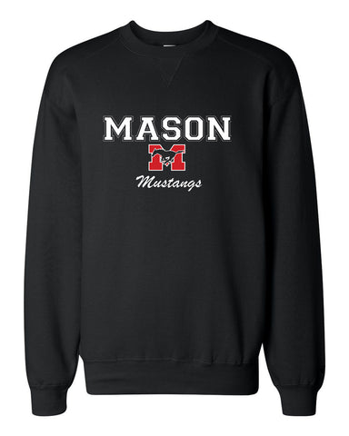 Sweatshirt - Black with white lettering