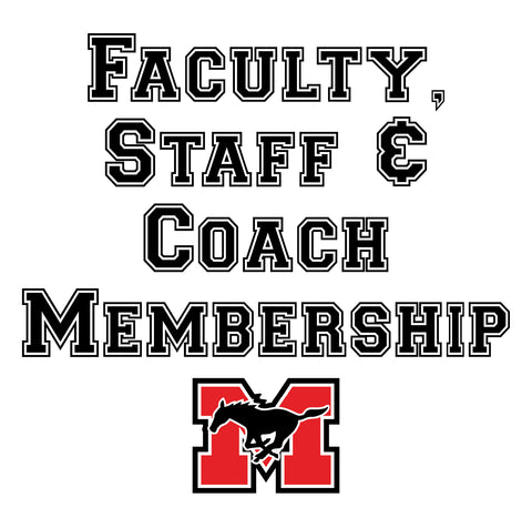 Faculty, Staff & Coach Membership