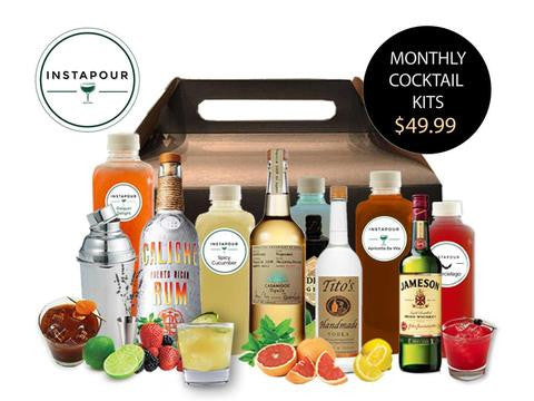 Monthly Cocktail Kit Subscription Box Delivery