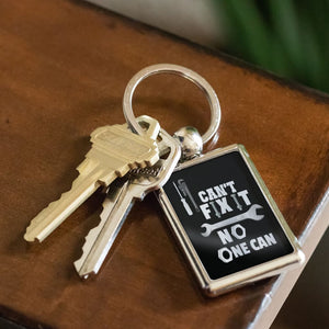 If Papa Cant Fix It No One Can Keychain - Keychain