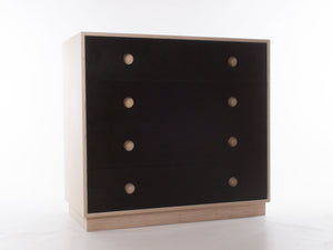 Wide Slate Chest of Drawers