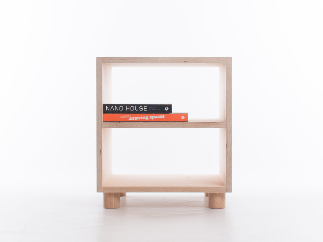 Side Table with Shelf