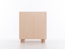 Load image into Gallery viewer, Box Side Table with Shelf