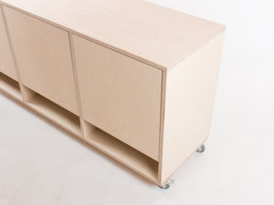 Box Triple Filing Cabinet