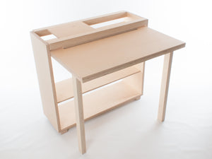Drop-Leaf Tablet Desk