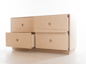 Malmo Double Short Chest of Drawers