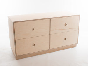 Double Short Malmo Chest of Drawers