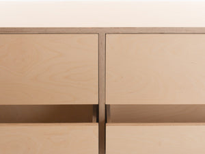 Malmo Double Chest of Drawers