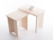 Load image into Gallery viewer, Pair of Nesting Origami Side Tables