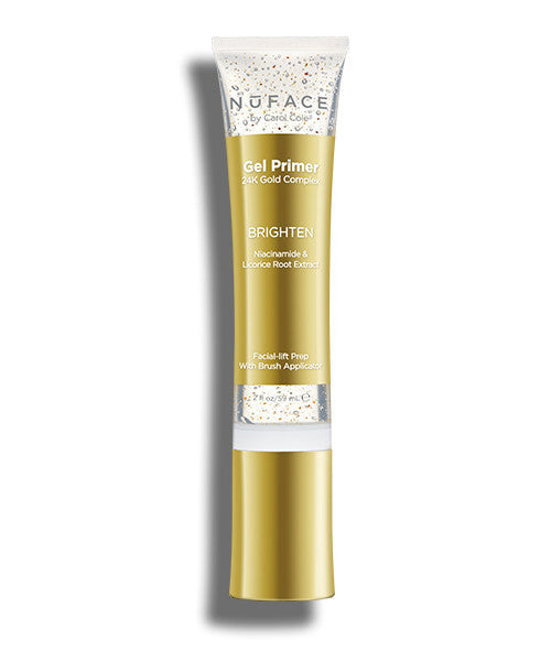 NuFACE 24K Gold Brighten Primer Gel, 2 Oz