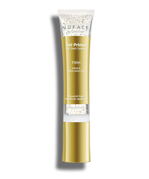 NuFACE 24K Gold Firm Fragrance-Free Primer Gel, 2 Oz