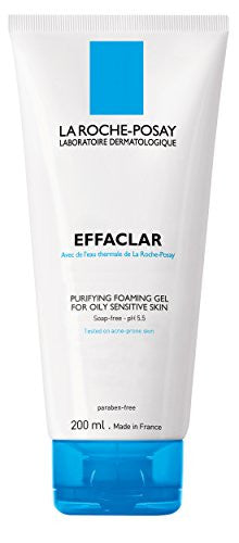 La Roche Posay Effaclar Purifying Foaming Gel, 6.76 Oz