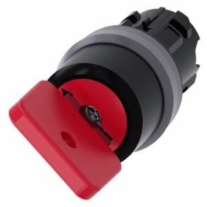 RP-10735:  Switch, Keyed Selector, Red, 2 Position, Momentary, Key# 73037, OMR Lock,22.5mm