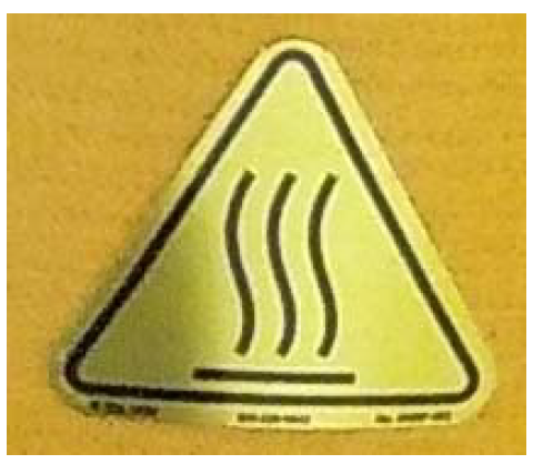 RE-45316: Standard Injector - Yellow Caution Triangle