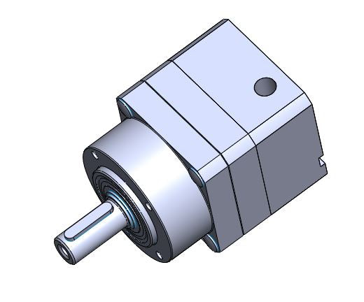RP-3970: Xtrue true planetary gearhead, size 60, 10:1 ratio, with size 060 redimount for AKM2XX-BX motor