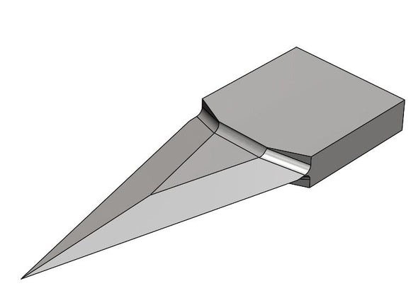 RE-7360 Ultrasonic Drop-In Style Carbide Blade