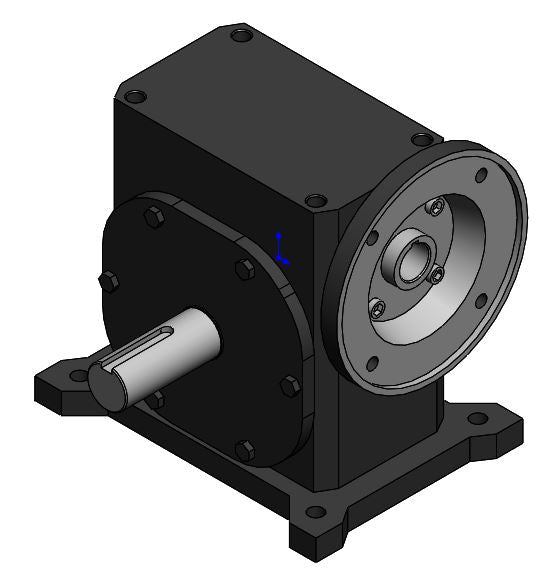 RP-11037; Gear Reducer, 5:1 213TC motor mount, 1.875