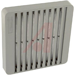 "RP-9085: Fan Grille, ASA61 gray, 4.13"" for a 3.15"" fan"