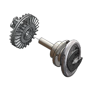 "RP-14903: Safety Chuck, Flange Mounted, 30-40 Size,Type VT2, 1.5"" Square, Extended Shaft perdrawing, with Manual ESB Brake shippeddisassembled from chuck."