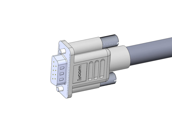 RE-65663: Vacuum Transducer Cable Assembly - DB9 Male