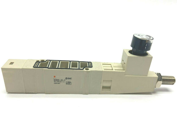 RP-10285: SV2000, 5 port solenoid valve, 4 position dual 3 port NC/NC (2 NC valves common supply)