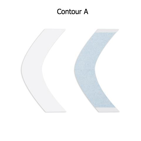 Lace Front Support Tape Contours & Minis — A, C, CC, Superwide