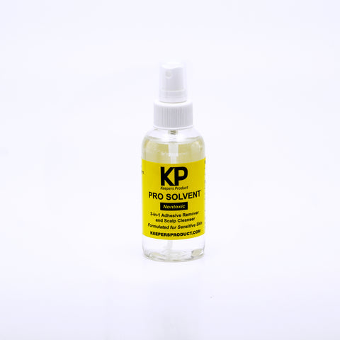 KP PRO SOLVENT - Scalp Cleanser & Adhesive Remover (4oz)