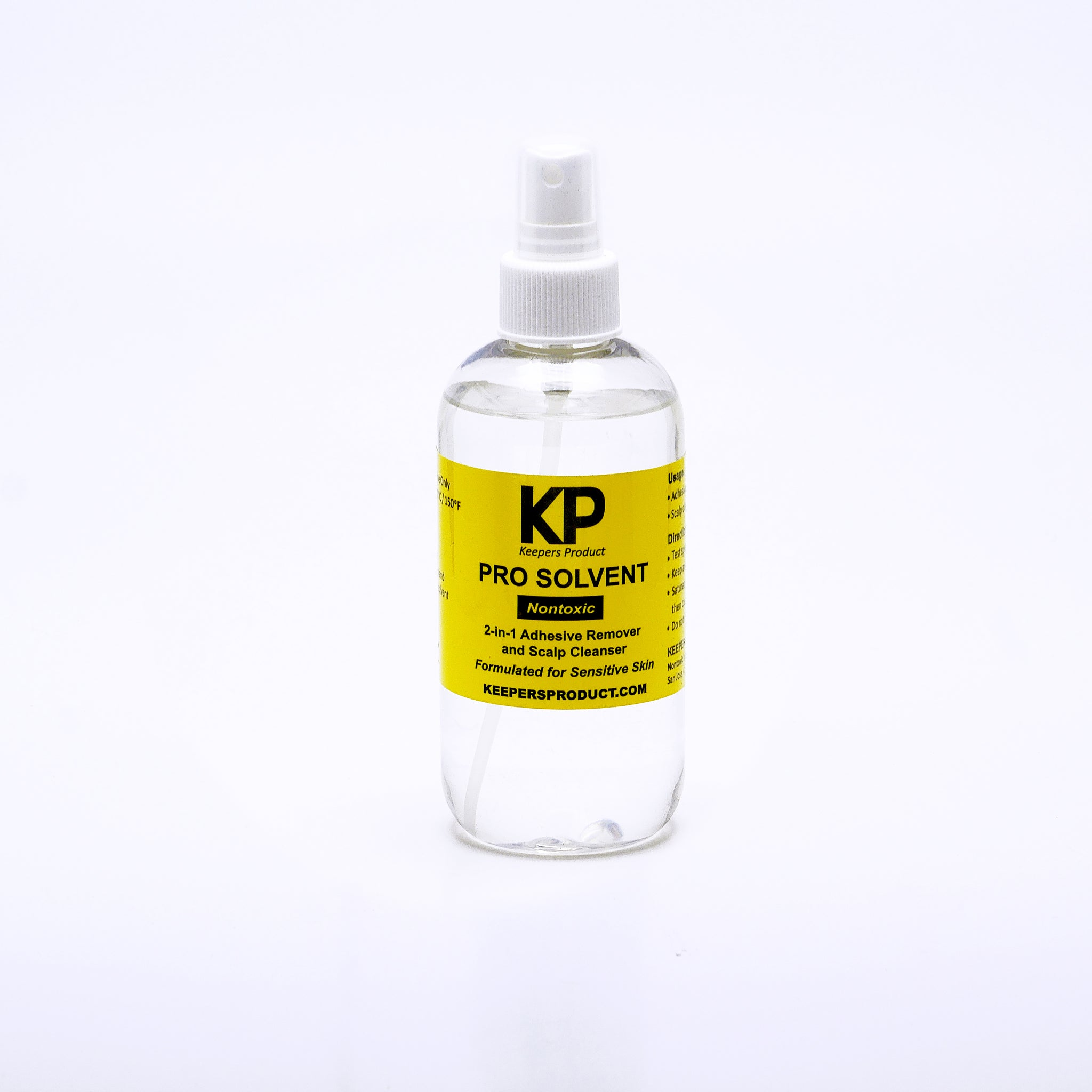 KP PRO SOLVENT - Scalp Cleanser & Adhesive Remover (8oz)