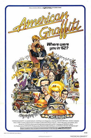 American Graffity (1973) - Movie Poster