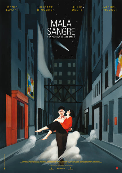 Alternative Movie Poster - Mala Sangre - David de las Heras