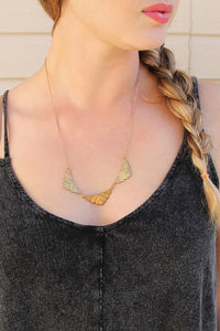 Sweet Leaf Necklace - Girl Party - 2