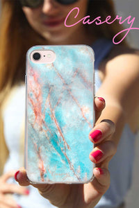Frosty Marble Cell Phone Case
