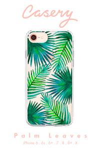 Palm Leaves Cell Phone Case