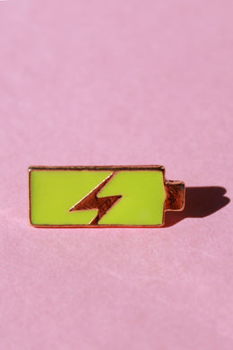 Fully Charged Lapel Pin