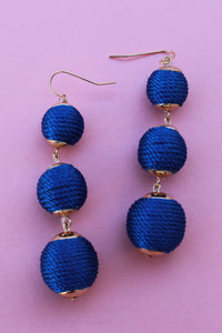 Roped Detail Bon Bon Earrings