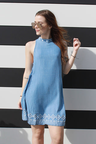 Denim Daydream Dress